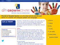 Website for Art of Growth Centre
