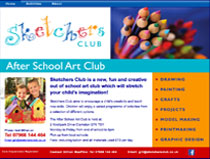 Website for Sketchers Club